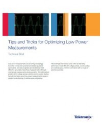 Tips and Tricks for Optimizing Low Power Measurements