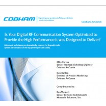 White Paper Digital Comm systems